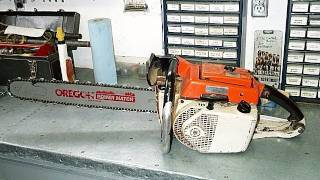 vintage stihl 075av or 055av carburetor rebuild part 1 2