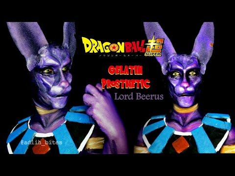 Lord Beerus | Dragon Ball | Cosplay Makeup || SFX Gelatin Prosthetic