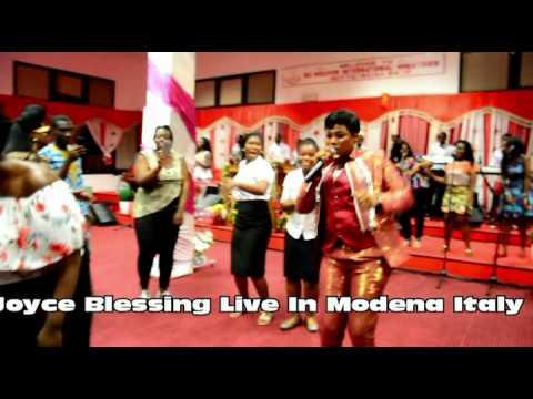 JOYCE BLESSING LIVE MODENA ITALY