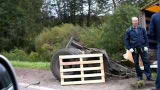 авария на трассе Псковская область  09.09.2010