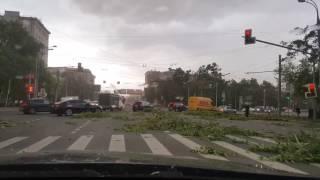 فيديو| اللحظات الأولى لإعصار موسكو المدمر