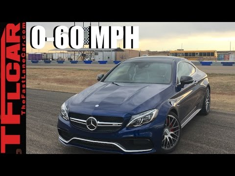 2017 Mercedes-AMG C63 S 0-60 MPH Review: Faster Than a Hellcat?