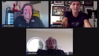 Lockdown Interview with Chris White (Dire Straights) Hosted By Adam Winslet