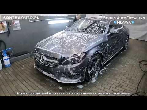 2020 Detailing Mercedes C W205 Mycie Korekta Folia Ceramika Car Spa Auto Detailing Polerowanie