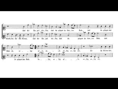 Mozart- Canon for 2 Voices in C minor, K.230/382b Sheet (Selig, selig alle) Music Sheet Music