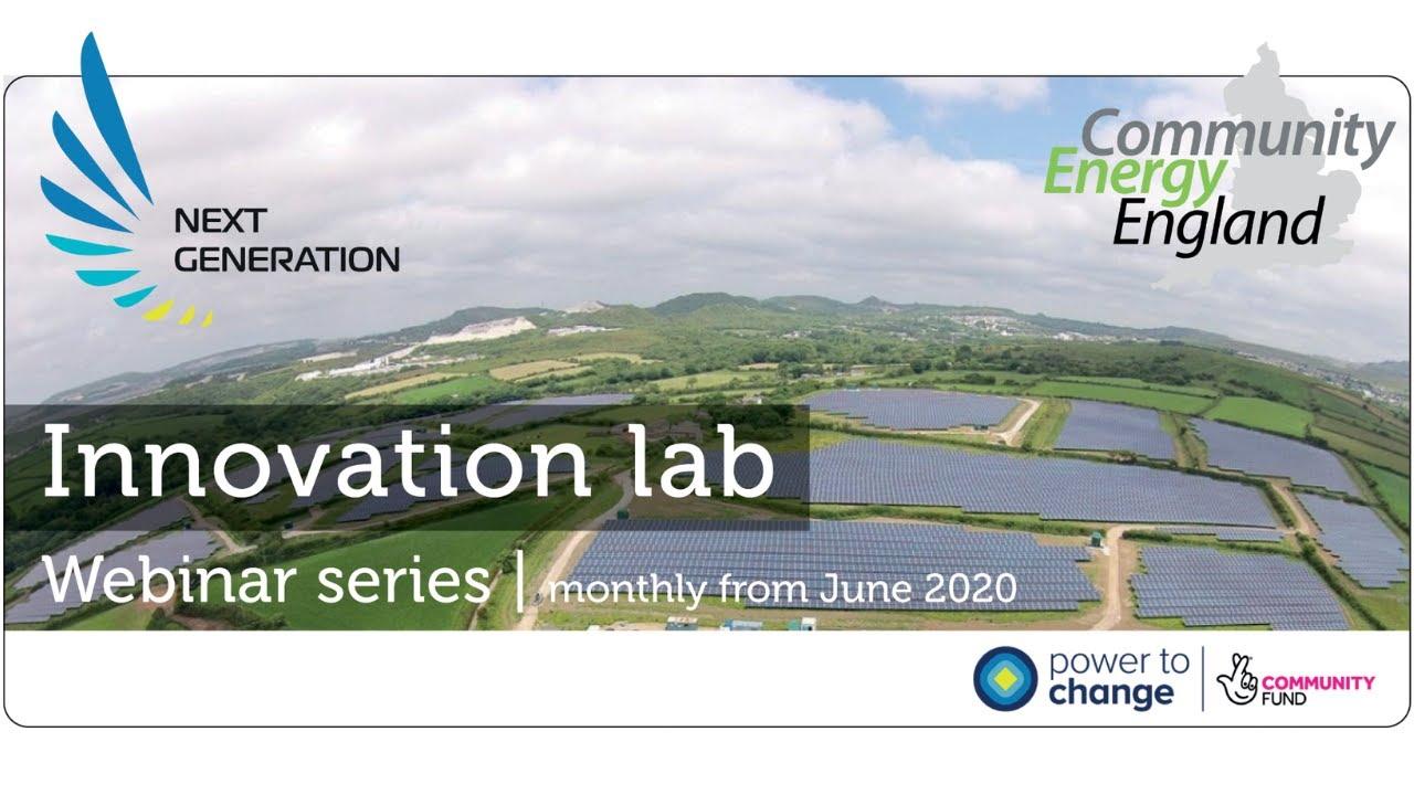 8. Next Generation Innovation Lab. Nadder Community Energy, EV car club