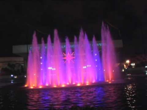 Downtown Long Beach Christmas Lights