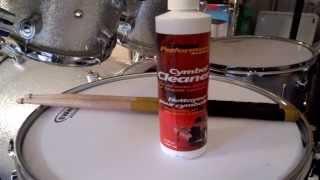 Sabian cymbal cleaner