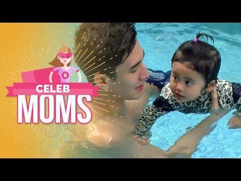 Celeb Moms: Venna Melinda, Vania Renang Bareng Kak Verrell - Episode 80