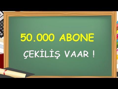 50.000 ABONE  -Yardımcı Öğretmen