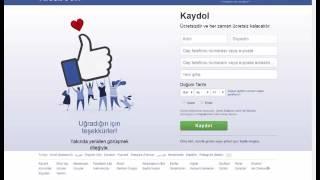 facebook başkasının hesabını kapatma (SESLİ)