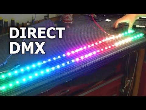 Dmx Rgb Led Strip Sirs E Direct Dmx Plug And Play High