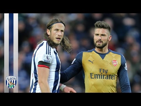 Jonas Olsson reflects on West Bromwich Albion's 2-1 victory over Arsenal