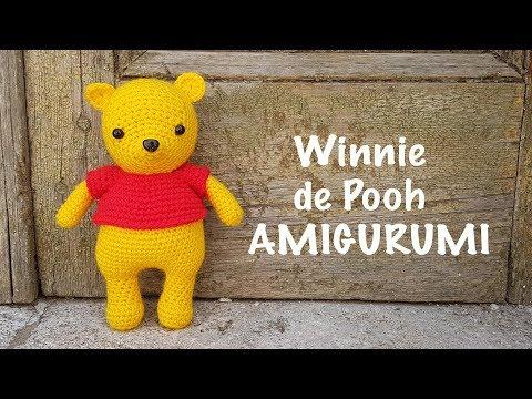 Winnie the Pooh Crochet Doll teilen - Amigurumi X | 360x480