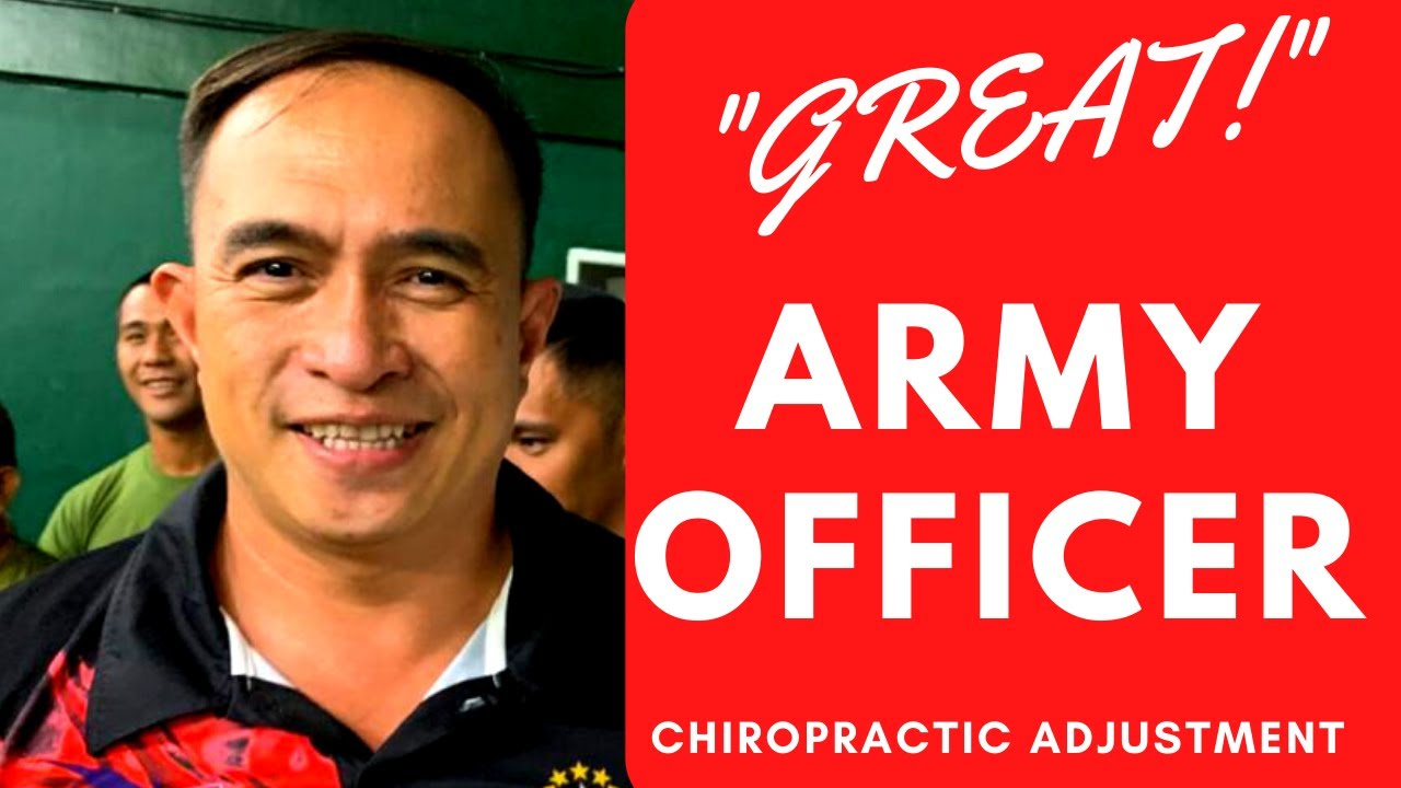 Global City Chiropractor Provided Charitable Chiropractic Care for Philippines Army Officer
