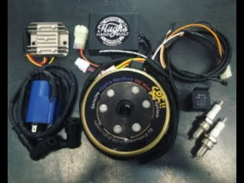 Hughs Handbuilt XS650 PMA CDI Kit How To Installation - YouTube