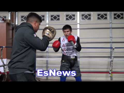 kazakhstan boxing star in camp with mikey garcia EsNews Boxing