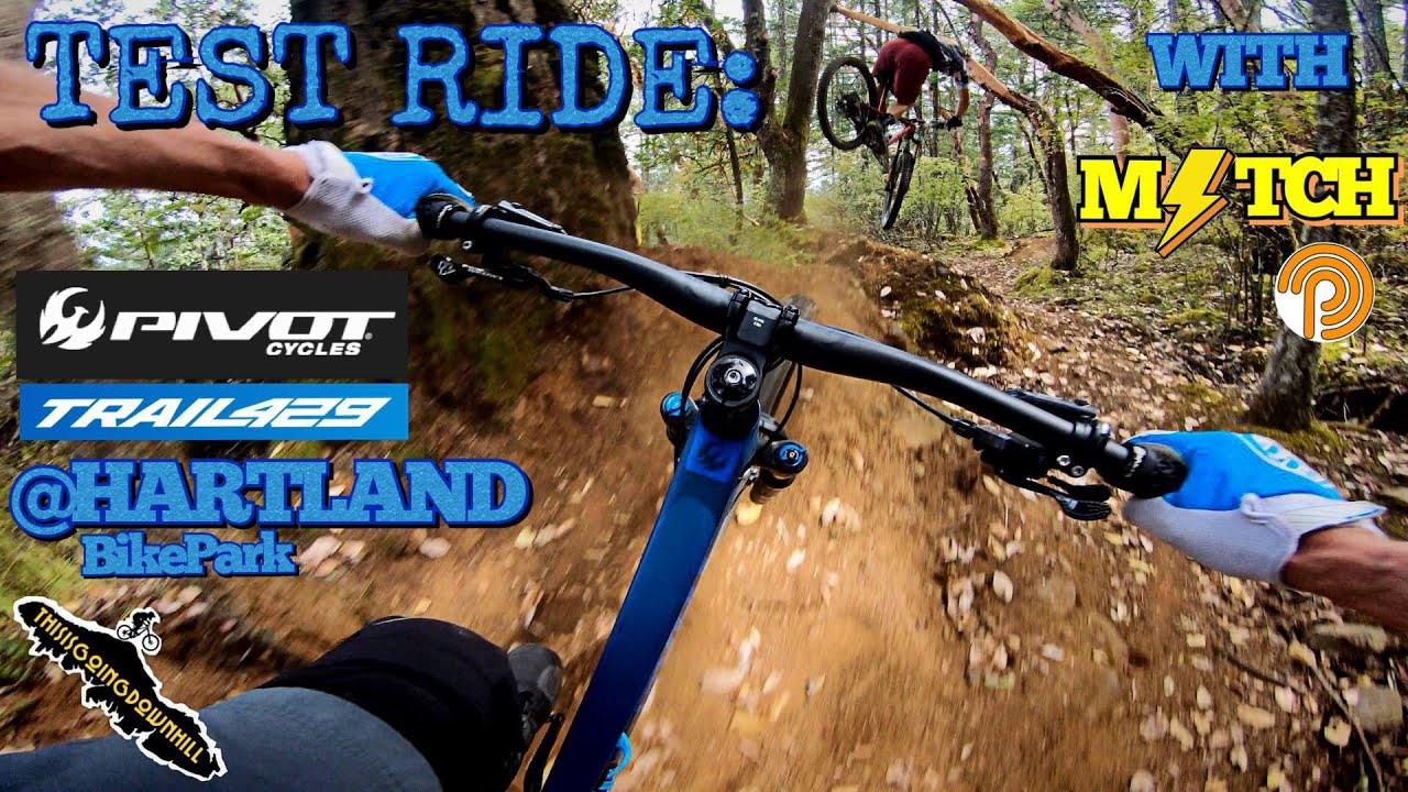 Mountain Biking on Vancouver Island - Test Riding the Pivot Trail 429 - Hartland Bike Park