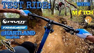 Mountain Biking on Vancouver Island - Test Riding the Pivot Trail 429 - Hartland Bike Park