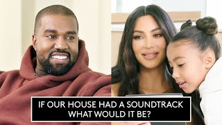 Gambar cover Kim and Kanye Quiz Each Other On Home Design, Family, and Life | Architectural Digest