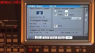 KORG PA900 - HD cách làm bend Y-3,-5…