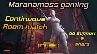 🔴LIVE  PUBG Mobile Tamil Continuous Custom Room Fun Match #mmgyt #funpandrom #mmgytlive