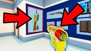 THE NEW RAY GUN in ROBLOX! *ROBLOX GUN SIMULATOR*
