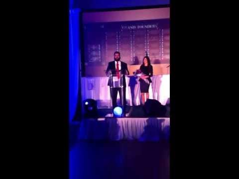 Ziv and Nitzchia Tamir Honored at Yeshiva Dinner
