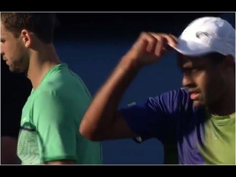 Grigor Dimitrov vs. Rajeev Ram 4-6, 3-6 Delray Beach Open (SF) 20.02.2016.