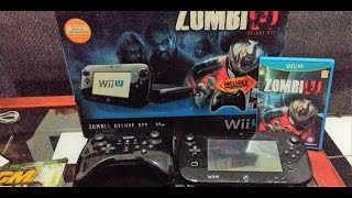 Unboxing - Nintendo Wii U (ZombiU Deluxe Set)