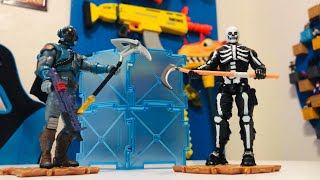 The Visitor & Skull Trooper Fortnite Action Figures Wave 2 Jazwares Unboxing + More On The Giveaway