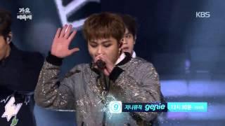 [HIT] KBS 가요대축제-비스트(BEAST) - Good Luck + 12시 30분.20141226
