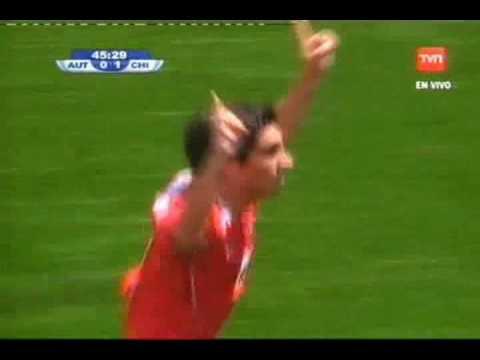 Gol de Hanz Martinez - chile sub 20 Chile - Austria