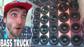 20 SUBWOOFERS in a TRUCK BUILD!?! Slammin EXTREME Car Audio Bass Demos w/ CRAZY LOUD Sound Systems!!