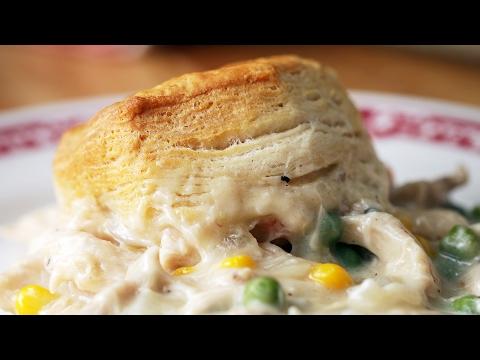 Chicken & Biscuits Bake