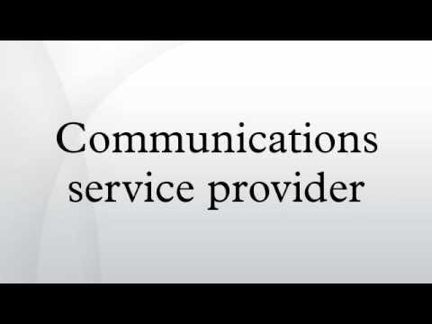 Communications Service Provider