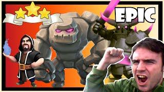 Clash of clans: ATAQUE MEGA EPICO con ayuntamiento 9 - ¡TH9 VS TH10! - Mi mejor ataque MEGA!