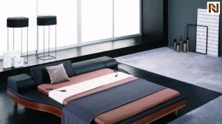 Portofino Adjustable Modern Leather Bed VGWCPORTOFINO(, 2012-02-13T11:10:52.000Z)