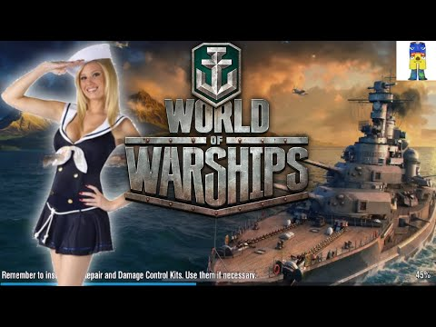 WORLD OF WARSHIPS BLITZ (SINKING FEELING RAMPAGE)