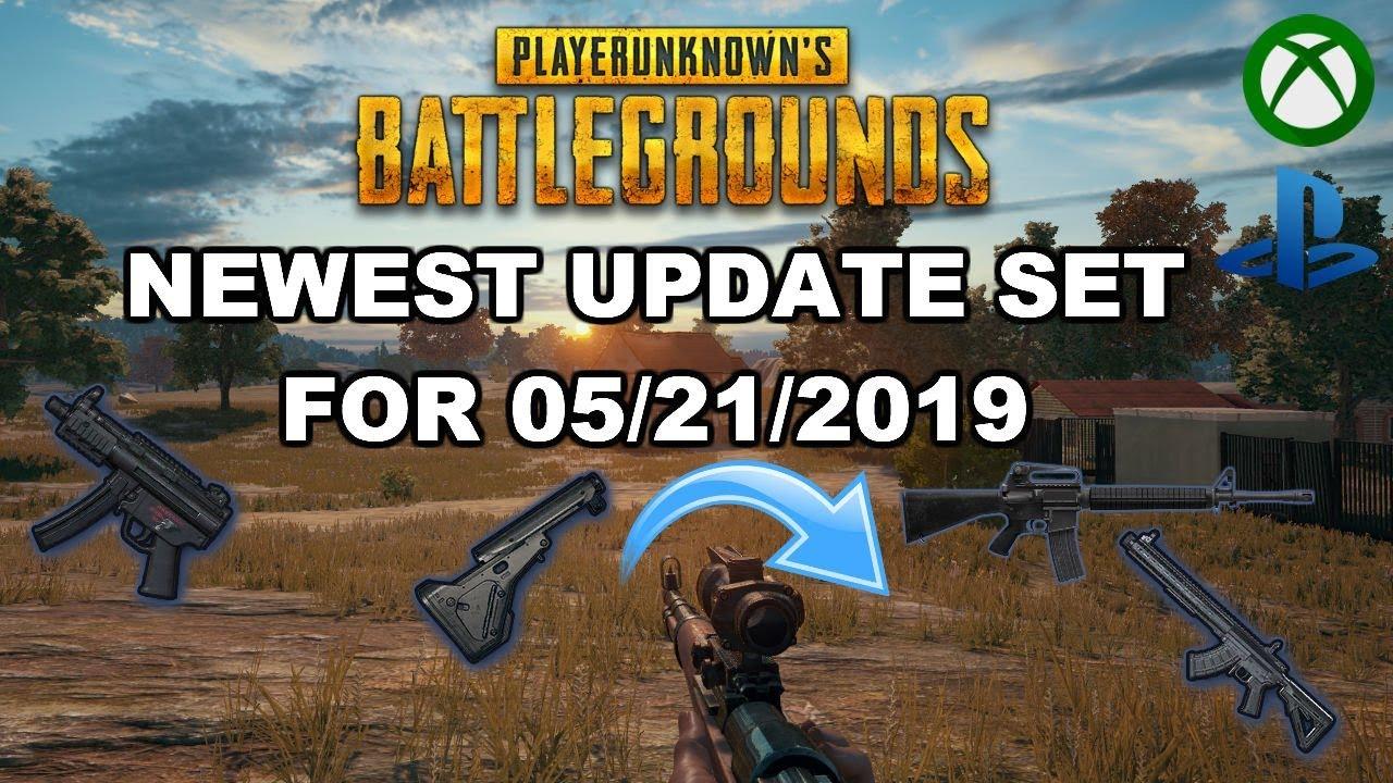 Pubg Xboxps4 Newest Update New Gun Loot Rebalance Loading Fix More