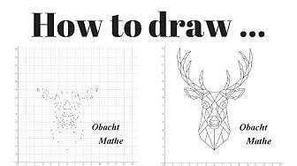 how to draw geometrische tiere zeichnen youtube. Black Bedroom Furniture Sets. Home Design Ideas