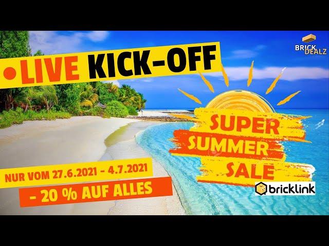 🔴 LIVE | KICK-OFF SUPER-SUMMER-SALE mit NETBRIX
