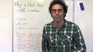How a flat tax would be fairer than our current system - Whiteboard Wednesday