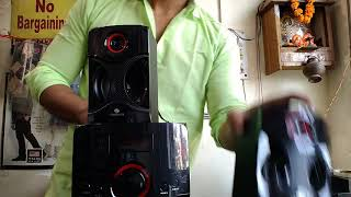 Zebronics BT RUCF 4440 4.1 MULTIMEDIA COMPUTER SPEAKER UNBOXING AND REVIEW