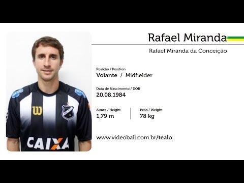 Rafael Miranda - Volante - Melhores Momentos