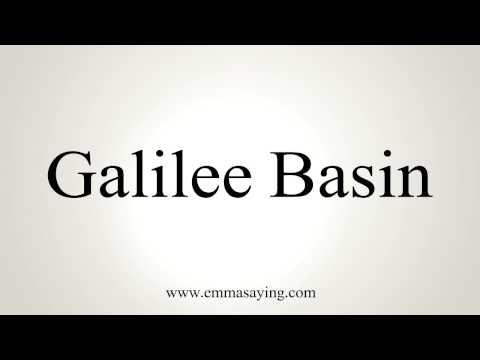 How to Pronounce Galilee Basin