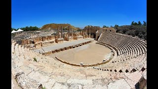 The Ancient Roman Theater in Beit She'an (Decapolis, Scythopolis), Israel - Detailed Information