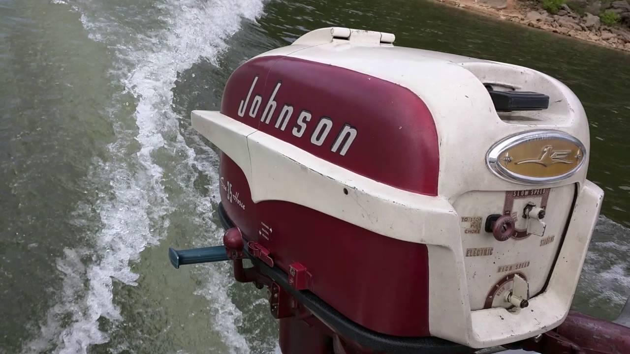 1957 johnson 35 hp youtube rh youtube com 1958 Johnson 10 HP 1958 Evinrude Lark 35 HP