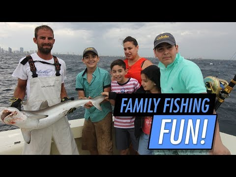 Fun Family Fishing Trip In Fort Lauderdale