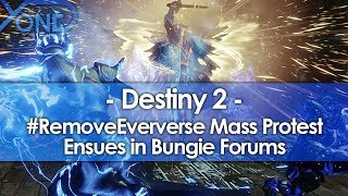 #RemoveEververse Mass Protest Ensues in Bungie Forums